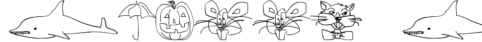 Vorschau der Schriftart - Screen Scrawls