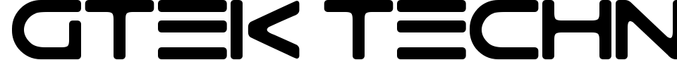 Anteprima - Font Gtek Technology