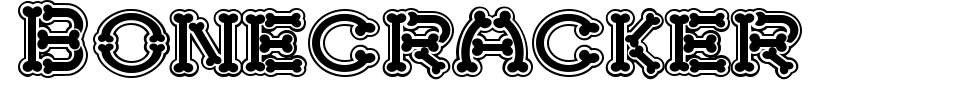 Bonecracker Font Preview