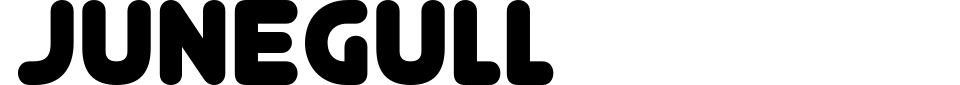 Junegull Font Preview