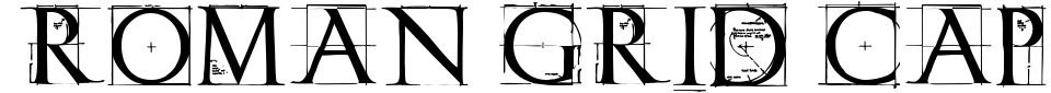 Roman Grid Caps Font Preview