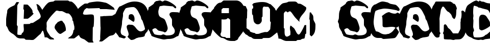 Anteprima - Font Potassium Scandal