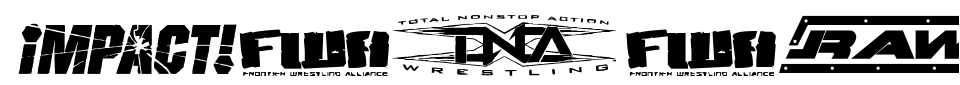 Anteprima - Font Pro Wrestling Logos