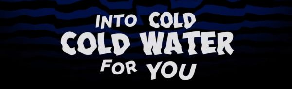 """Cold Cold Water"" in Obelix Pro Cry Font"