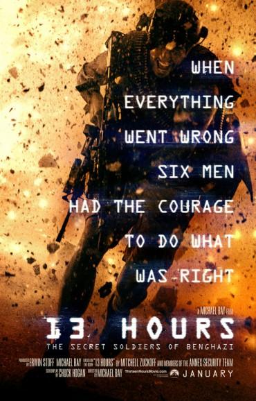 13 Hours (film) Font