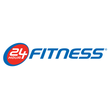 24 Hour Fitnessロゴフォント