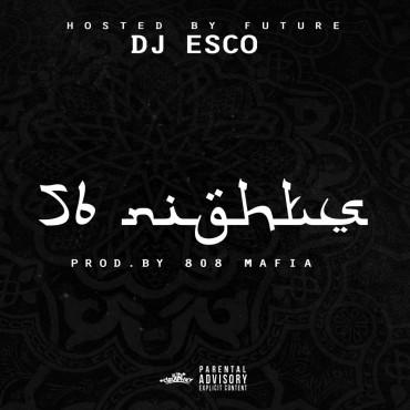 56 Nights (Future) Font