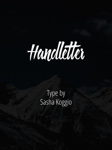 Handletter – Free Brush Font