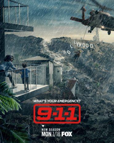 9-1-1 (TV series) Font