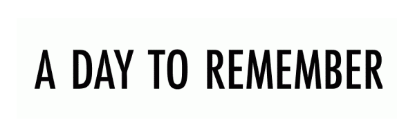 A Day to Remember Logo Font - 16.6KB