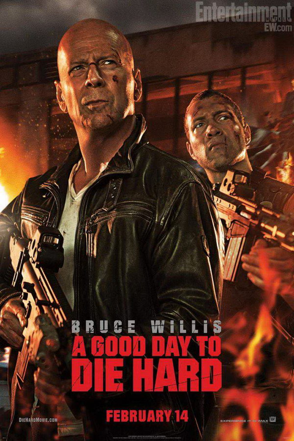 A Good Day To Die Hard Font