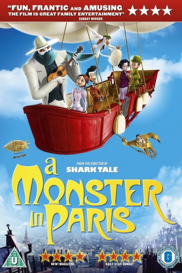 A Monster in Paris Font