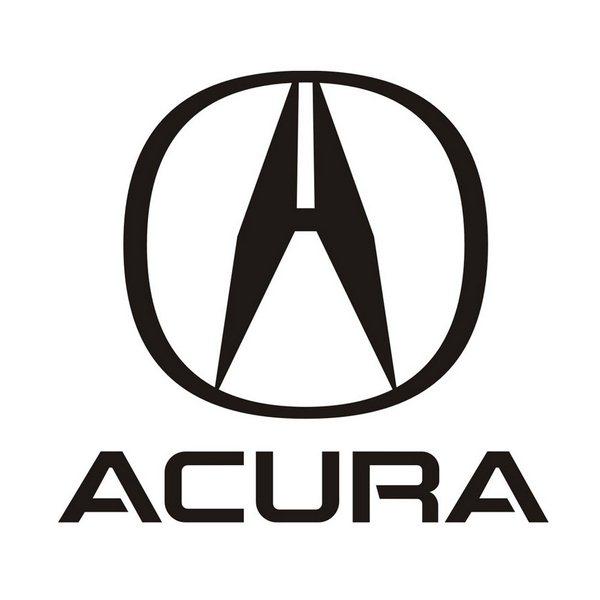 Acura Font and Acura Logo