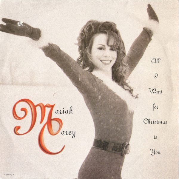 Mariah Carey Christmas Album Cover.All I Want For Christmas Is You Font