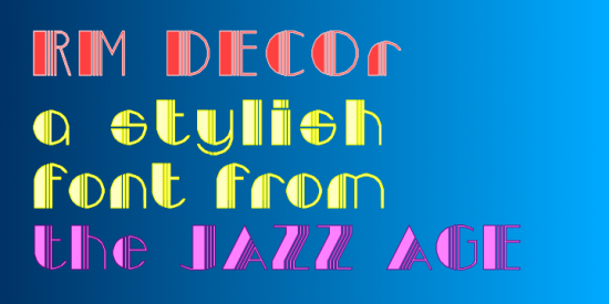 Art Deco Fonts - Art Deco Font Generator