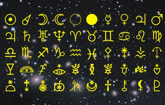 Astronomical Font and Astronomical Symbols