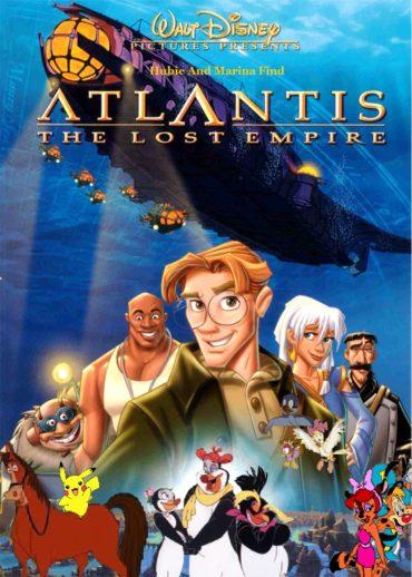 Atlantis The Lost Empire Font