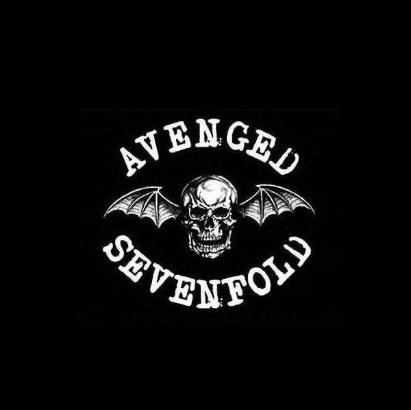 avenged sevenfold font and avenged sevenfold logo