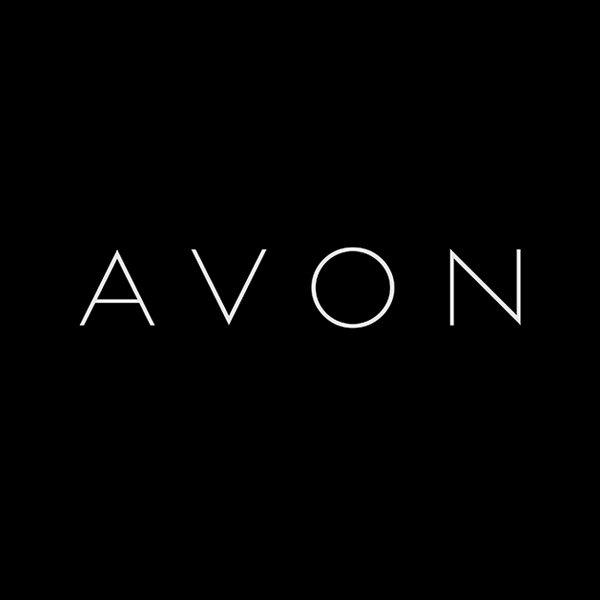 avon font and avon logo