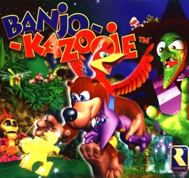 Banjo-Kazooie Font