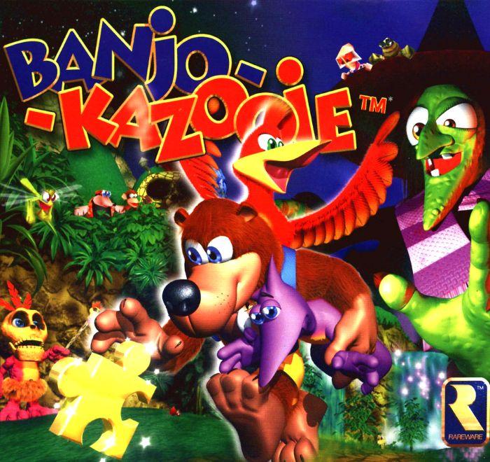 BANJO kazooie font