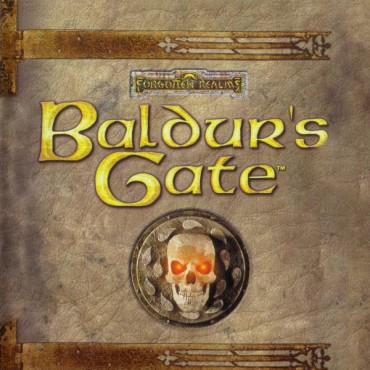 Baldur's Gate Font