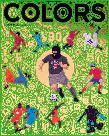 Colors (magazine) Font