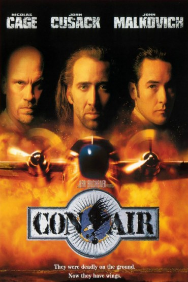 Con Air (film) Font