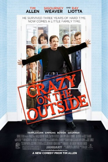 Crazy on the Outside Font