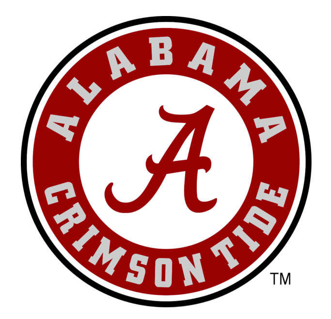 alabama crimson tide font rh fontmeme com alabama football logo stencil