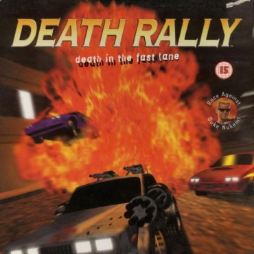 Death Rally Font