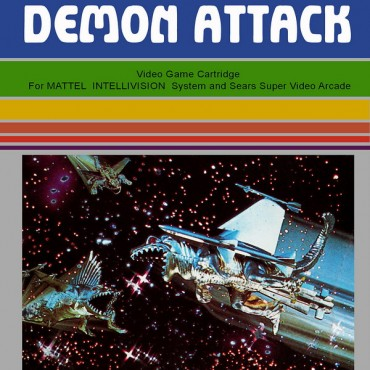 Demon Attack Font
