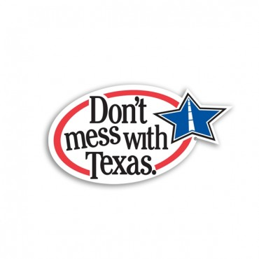 Don't Mess with Texas Font