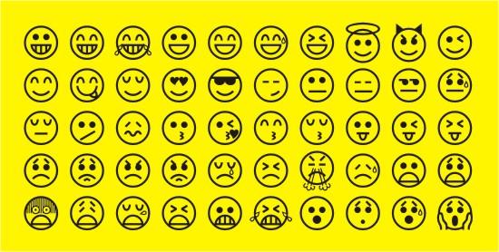 Emoticon Font And Emoticons