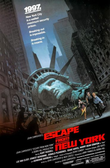 Escape from New York Font