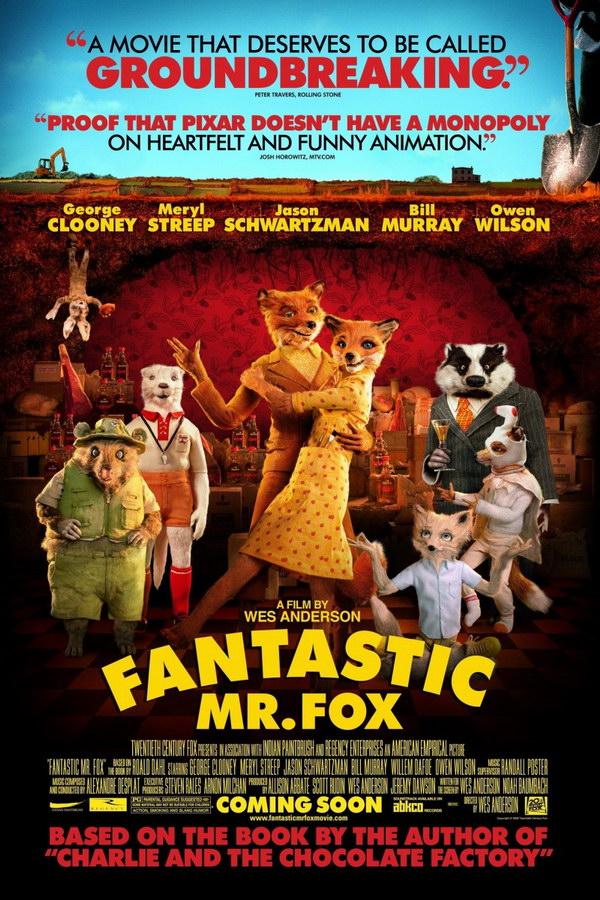 Fantastic Mr Fox Font