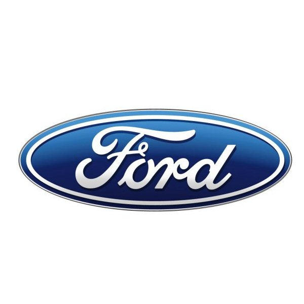 Ford font here refers to the font used in the logo of Ford company
