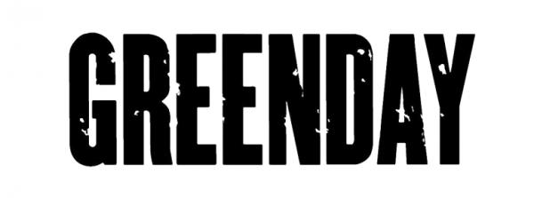 green day logo font