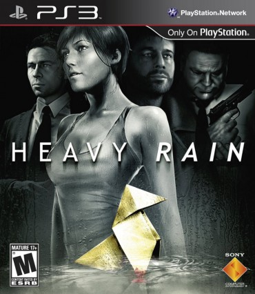 Heavy Rain (video game) Font