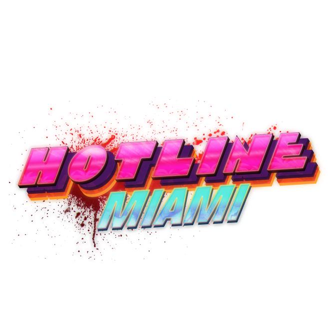 Hotline Miami GAME Logo