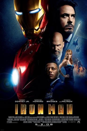 Iron-Man-Schriftart