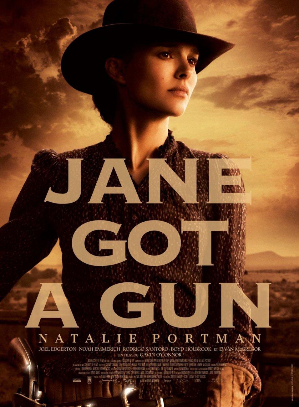 JANE GOT A GUN FONT