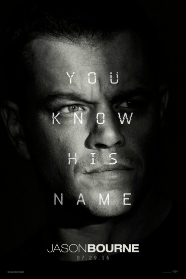 Jason Bourne (film) Font