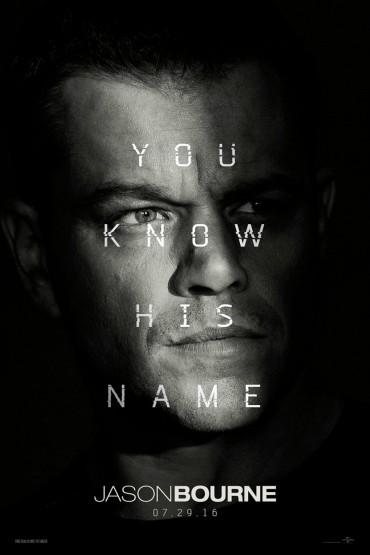 Jason Bourne  (film) Font
