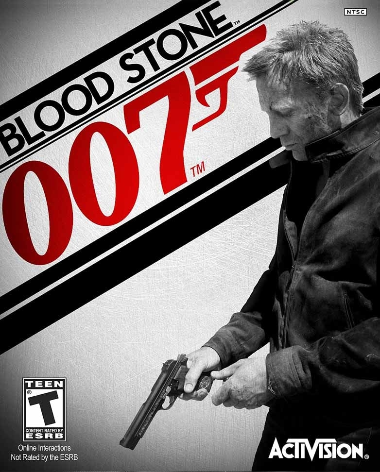 James Bond 007 Blood Stone game font-min