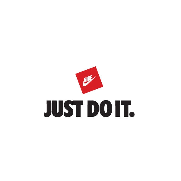 Just Do It Font