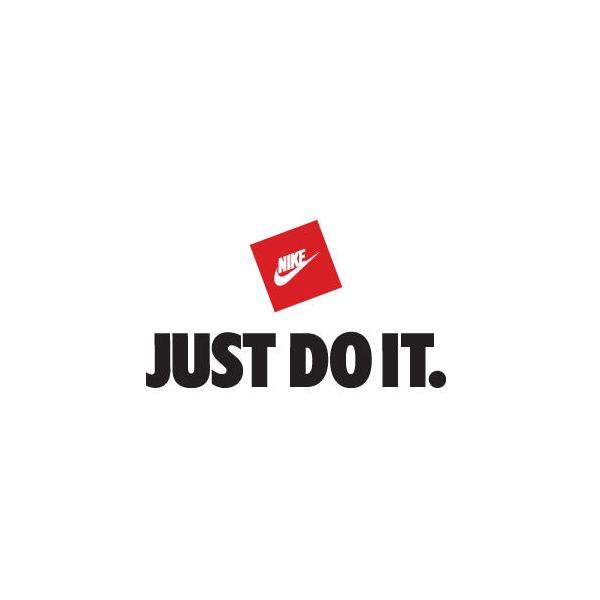 Pensativo El aparato consumidor  Just Do It Font