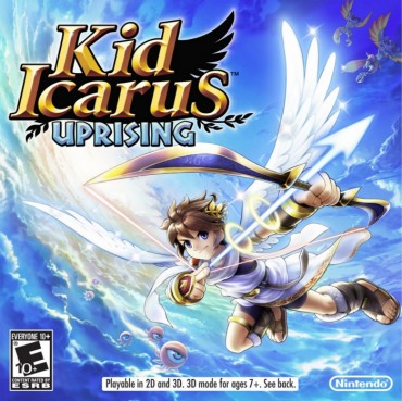 Kid Icarus Uprising Font