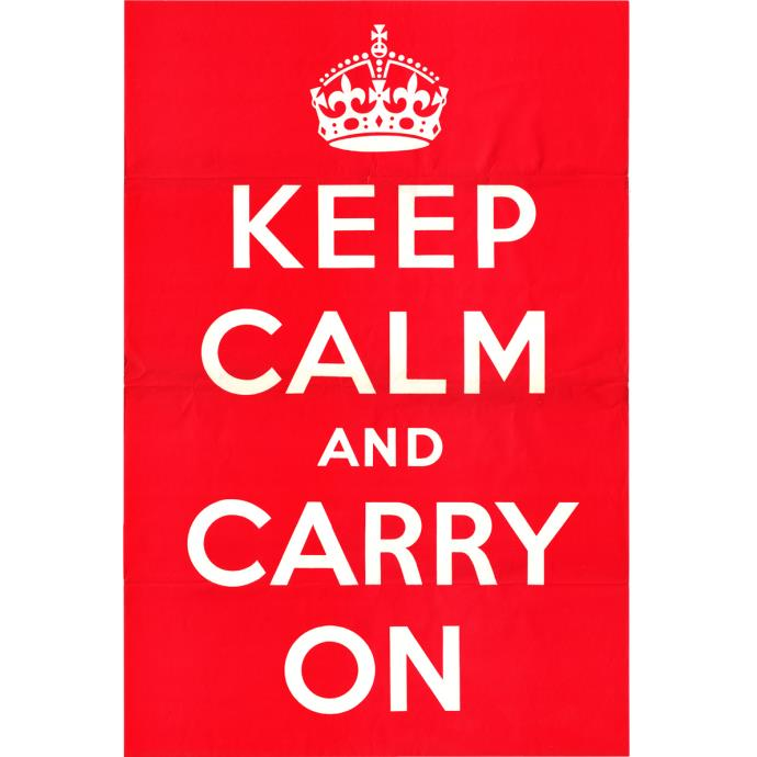 Keep calm and carry on poster font for Keep calm font download