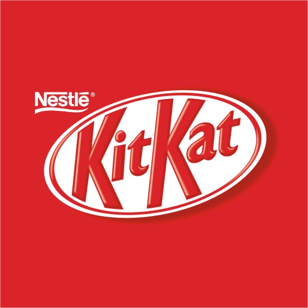 kit kat font here refers to the font used in the logo of kit kat which ...